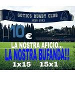 Bufanda Gòtics RC - 10€